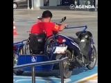 Мопед для людей с ограниченными возможностями