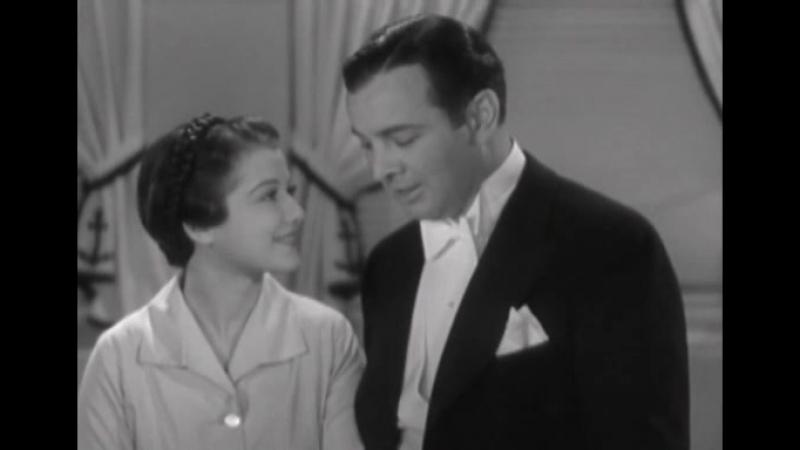 Sidney Blackmer Warbles A Tune To Sydney Fox (1934)