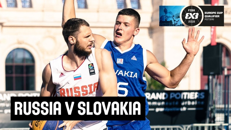 Russia v Slovakia - Qualification Game - FIBA 3x3 Europe Cup Qualifiers - France 2018