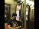 В Бруклине мужик проехал в метро не заходя в вагон