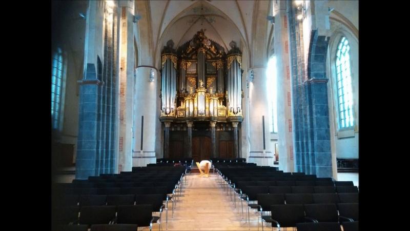 Janny De Vries J S Bach 'An Wasserflüssen Babylon' BWV 653a Martinikerk Groningen