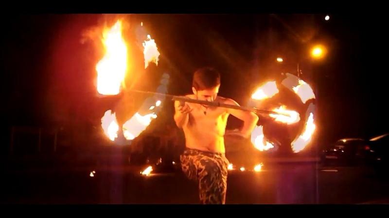 Фаер-шоу Бобруйск - Беларусь l Born_of_Fire