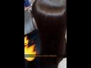 стрижка огнём (обжиг волос) на базе L'anza Ultimate Treatment для Юли
