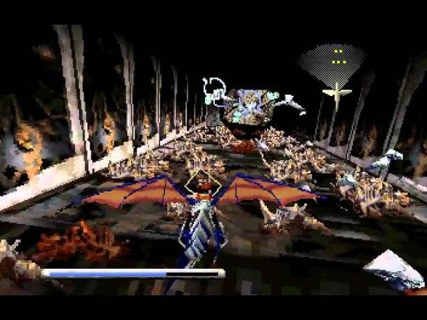Sega Saturn Panzer Dragoon (Walkthrough Full Gameplay)