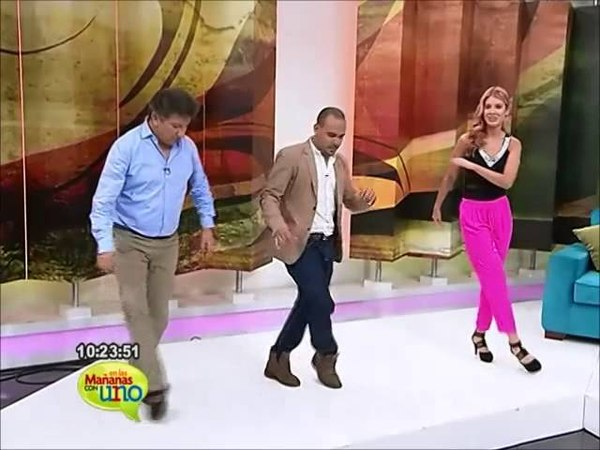 Pasos básicos de salsa con el actor Manolo Gutiérrez