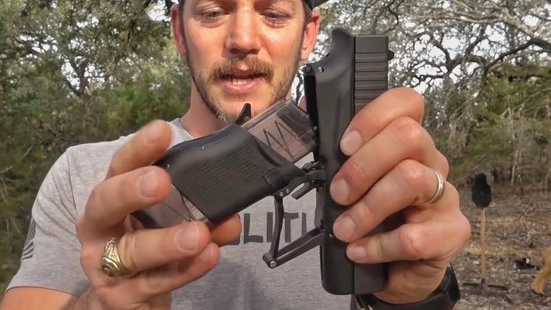 Складной Glock превращающийся в пистолет пулемёт Разрушительное ранчо Перевод Zёбры