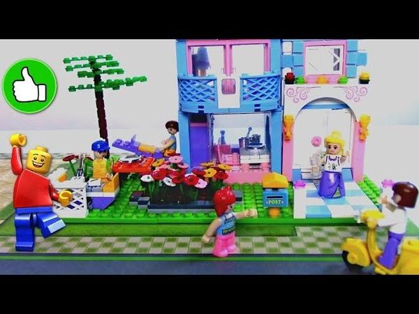Видео для детей Играем вместе Город Мечты Коттедж Мультики про Игрушки