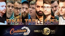 Highlights Final Table MILLIONS World $25k Day 4 Caribbean Poker Party