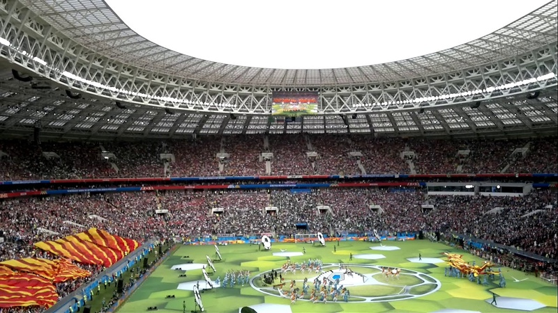 2018 FIFA World Cup Russia - Opening Ceremony (feat. Robbie Williams)