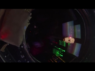 Прибытие SpaceX Dragon на МКС