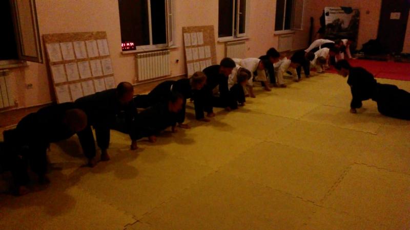 Тренировка по айкидзюдзюцу клуб