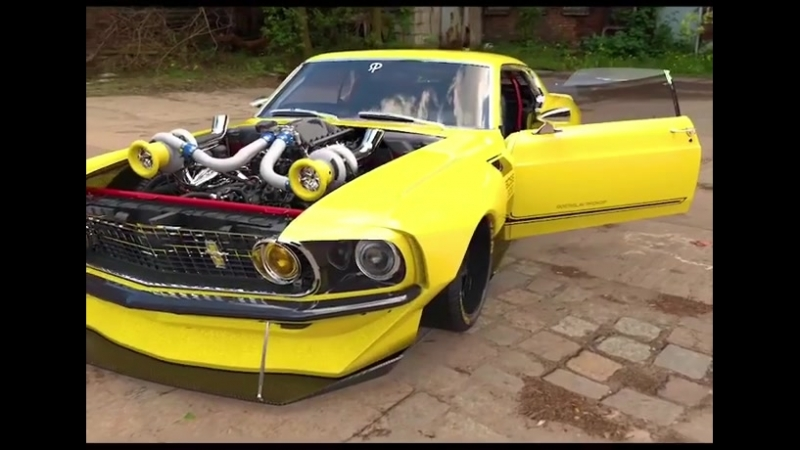 Ford Mustang Boss 302 Walk around and Start up Engine DESIGN | @rostislav_prokop