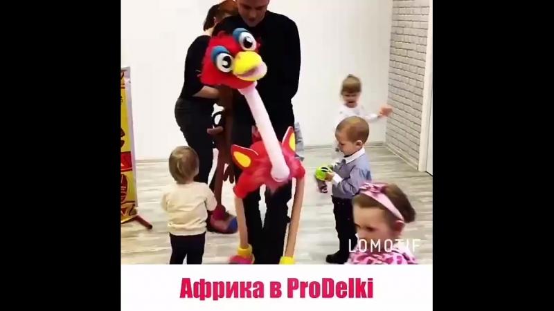 Кукольный спектакль Африка