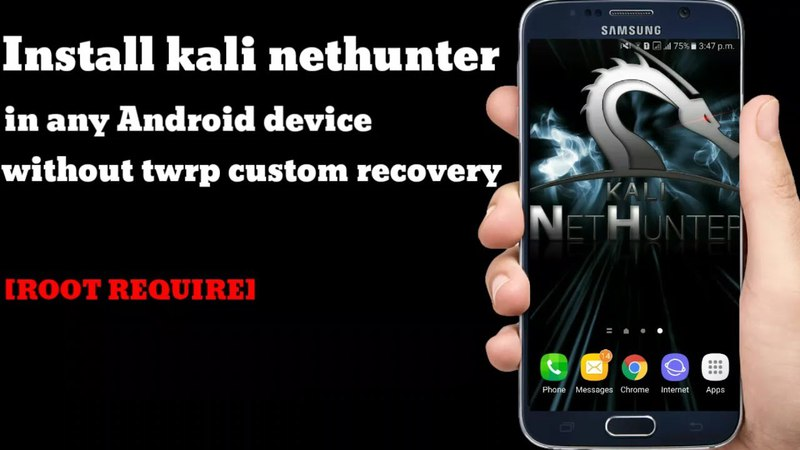 Install kali nethunter in any Android device without TWRP Custom recovery [ ROOT REQUIRE]