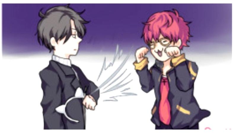 Seven vs Jumin Cats ~ Mystic Messenger Comic dub