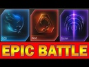 GDI vs NOD vs SCRIN - 4 Epic Battles : Upgrades, Heroic, No upgrades, 10 all units squads