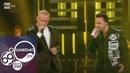 Sanremo 2019 Eros Ramazzotti e Luis Fonsi cantano Per le strade una canzone