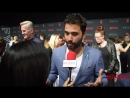 Ignacio Serricchio LostinSpace interviewed at 2018 NetflixFYSee Space FYC Emmys party