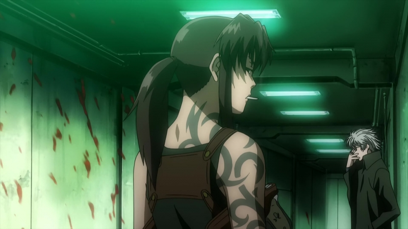Пираты «Чёрной лагуны» Black Lagoon Robertas Blood Trail 27 серия/OVA AniDub BDRip