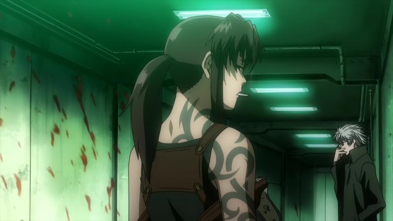 Пираты «Чёрной лагуны» Black Lagoon Robertas Blood Trail 27 серия/OVA AniDub BDRip