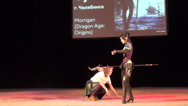 Косплеер Oji - Morrigan (Dragon Age Origins)