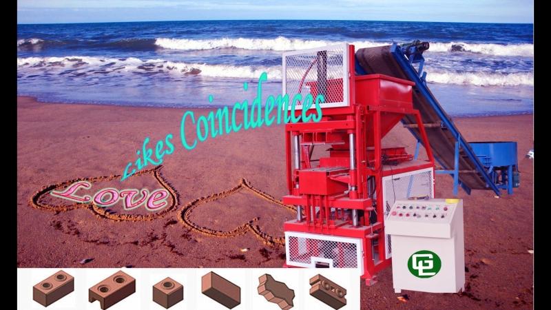 SYN2-5 GiantLin safido interlocking brick machine sibs 789 pi , automatic stablized soil cement interlocking brick machine pric