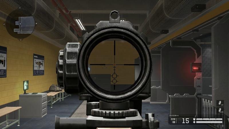 Макрос на FN SCAR‐H. Warface