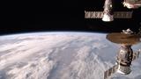 Soyuz MS-09 departing the International Space Station