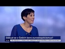 Poslanec SPD L.Volny a probruselska moderatorka Witowska eurohujerka z top09 Pekarova