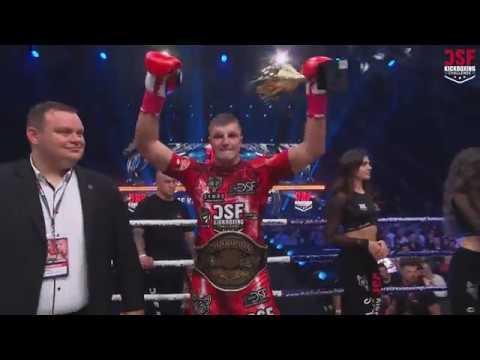 Пётр Романкевич [Беларусь] 🇧🇾 vs Dawidem Żółtaszkiem [Poland] 🇵🇱   DSF Kickboxing Challenge 14