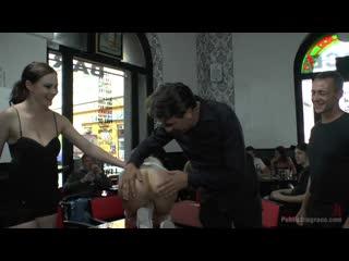 Gorgeous whore melanie services public disgrace
