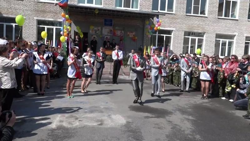 Ливадия 2012г, танец на последний звонок 11А