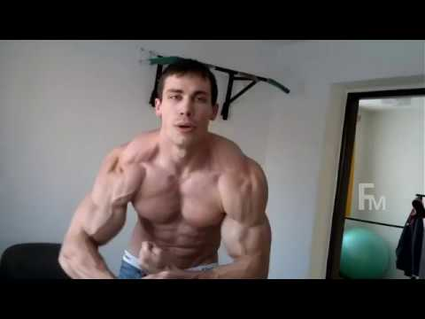 MUSCLE FLEX BICEPS | SIXPACK BODYBUILDER SHOW ON CAMERA