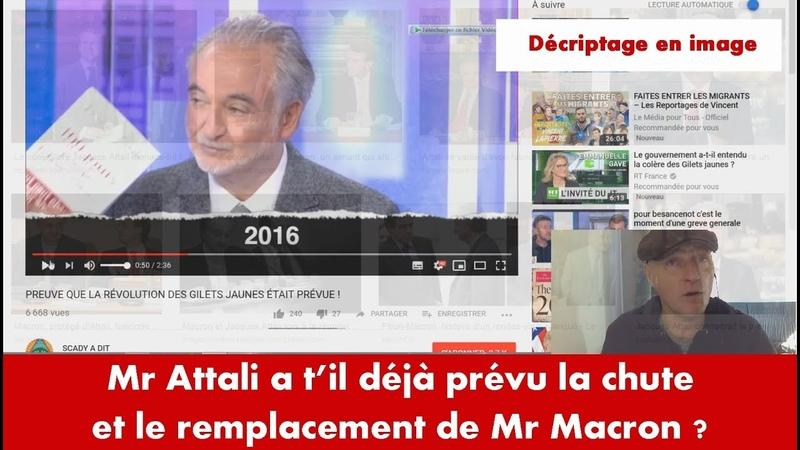 Mr Attali a t'il déjà prévu la chute de Macron ? Force de l'ordre Macron n'est...