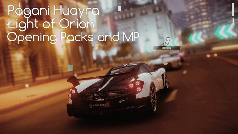 Asphalt 9: Legends / Packs Opening (Pagani Huayra BC) MP Test