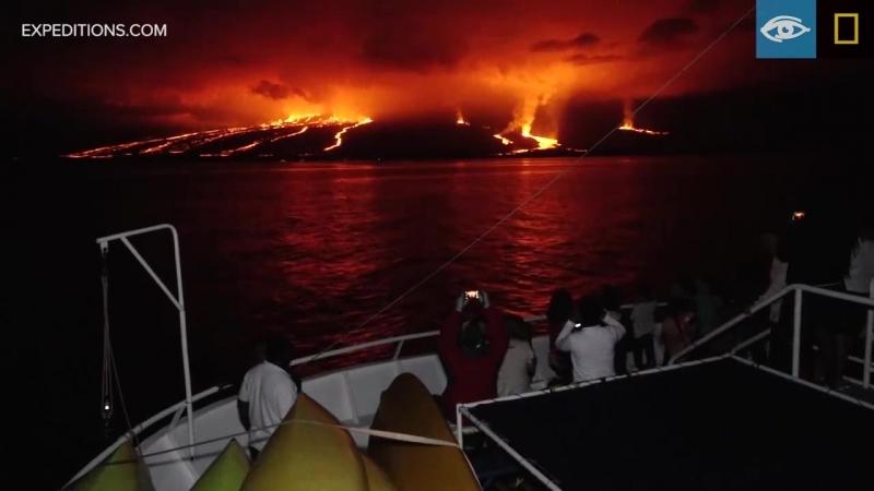 Сьерра-Негра остров Исабела (Галапагосы)