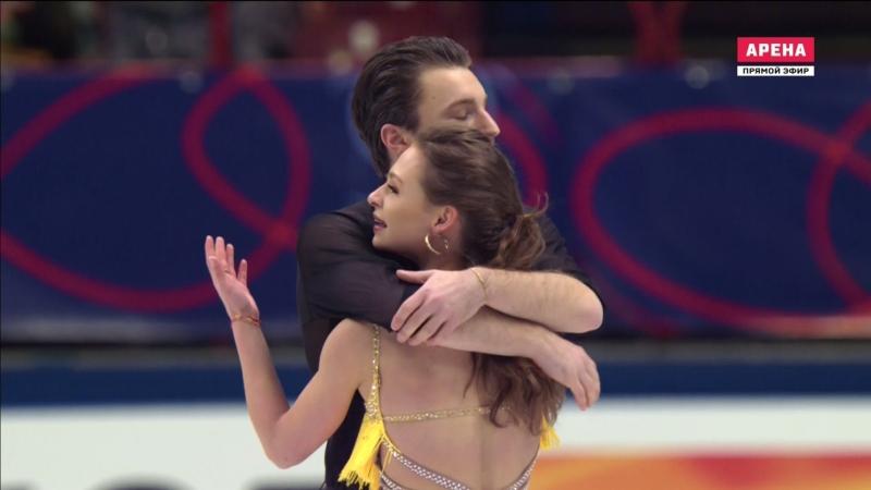 World Championships 2018. Ice Dance - SD. Kavita LORENZ / Joti POLIZOAKIS