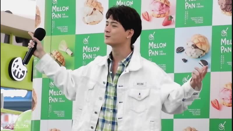 KRIST - งาน Melon Pan Ice Cream ฟินจังปังเว่อร์ [120818]