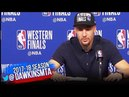 Klay Thompson Postgame Interview | Warriors-Rockets Game 7 | 2018 WCF | FreeDawkins