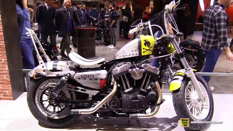 2018 Harley Davidson Forty Eight Thunderbolt Custom Bike by H-D Lotz - 2017 EICMA