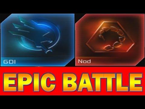 GDI vs Nod - Epic Battle