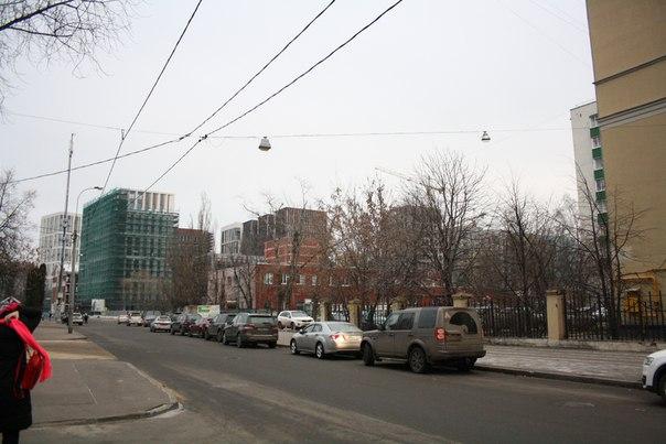 Новый район со стройным модернизмом.  26 ноября 2017