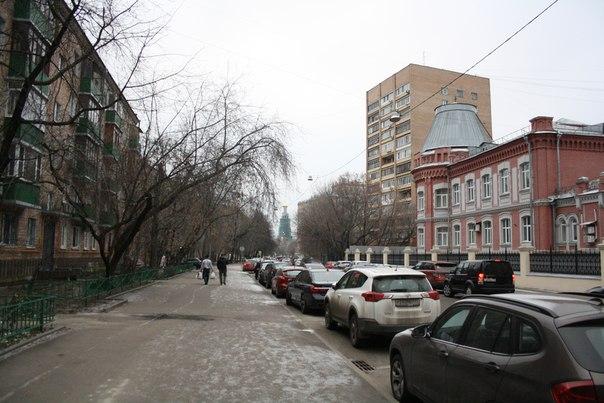 Огромные тротуары.  26 ноября 2017