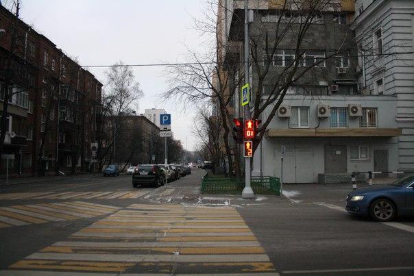Перспектива Погодинской улицы.  26 ноября 2017