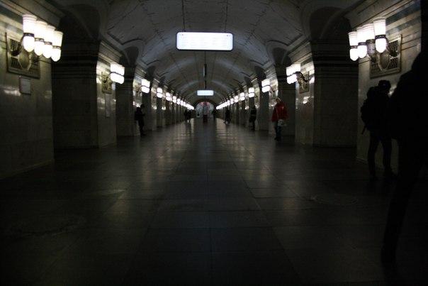 Интерьер метро