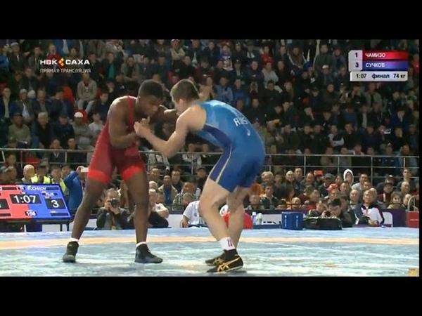 Korkin 2018: Frank CHAMIZO MARQUEZ (ITA) - Nikita SUCHKOV (RUS)