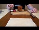 Длина клинка финки с наборной рукоятью из оргстекла и практическое применение