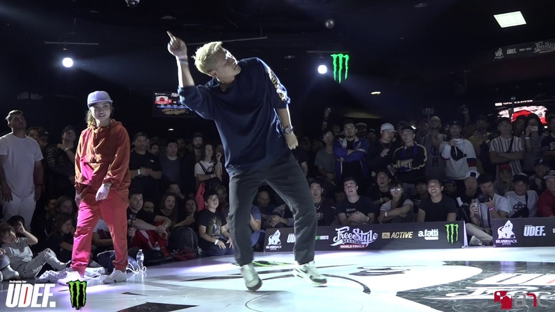 AmiKatsu1 Vs Funk Fockers - Top 16 - Freestyle Session 2018 - Pro Breaking Tour - BNC