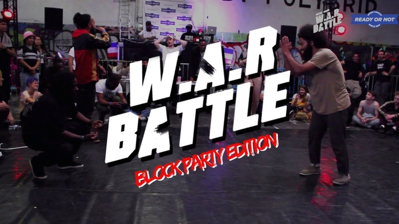 W.A.R BATTLE 2018 | Grande Finale Hip Hop vs Break | Spider (6td - The Shield) V.S Salomon