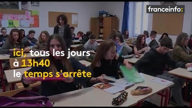 Banon : un collège silencieux tous les jours après le déjeuner